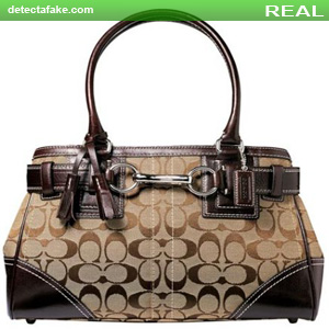 57ba694511a9cb How to spot fake  Coach Purses - 5 Steps (With Photos)