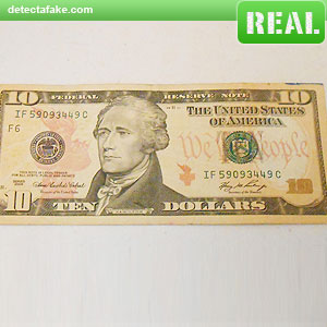 $10 Bills - Step 1, picture 1