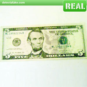 $5 Bills - Step 1, picture 1