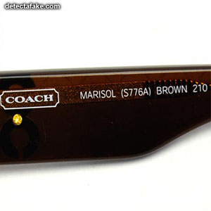 Coach Sunglasses - Step 3, picture 1