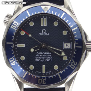 How To Spot Fake Omega Seamaster Watches 10 Steps With Photos