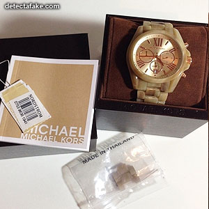 514af206a3 How to spot fake  Michael Kors Watches - 7 Steps (With Photos)