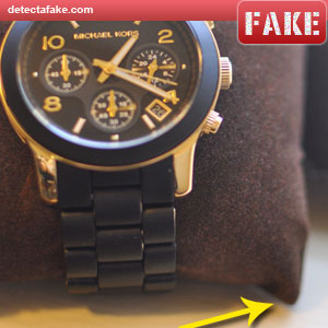 1aa690a6af6 How to spot fake  Michael Kors Watches - 7 Steps (With Photos)