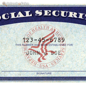 make a social security card template - social security cards step 1 picture 1