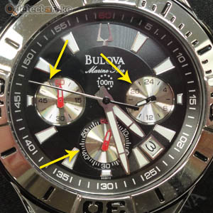 Bulova Marine Star Watches - Step 3, picture 1