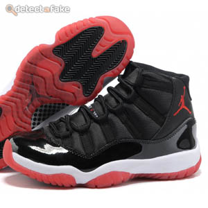 newest d8e39 fdb60 How to spot fake: Nike Air Jordan XI (11) Retro - 9 Steps ...