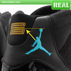 separation shoes 5992f 6cbf4 Nike Air Jordan XI (11) Retro - Step 2, picture 1 ...