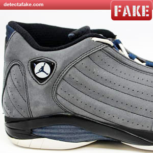 f907d43f9ea How to spot fake: Nike Air Jordan XIV (14) Retro - 9 Steps (With Photos)