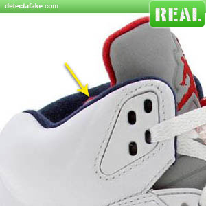 04ad495d76b How to spot fake: Nike Air Jordan V (5) Retro - 12 Steps (With Photos)