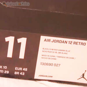 Nike Air Jordan XII (12) Retro - Step 1, picture 2