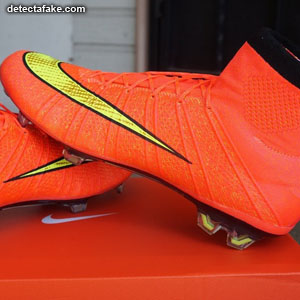 3ab6f9a414f How to spot fake: Nike Mercurial Superfly - 12 Steps (With Photos)