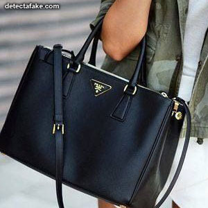 8adafbb7a202 How to spot fake  Prada Purses - 10 Steps (With Photos)