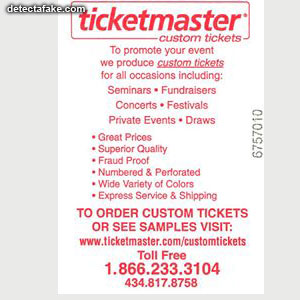 Ticketmaster Event Tickets - Step 6, picture 1