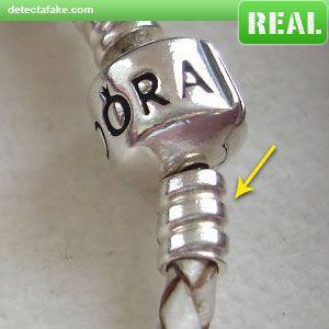 0568abbd2 How to spot fake: Pandora Bracelets - 4 Steps (With Photos)