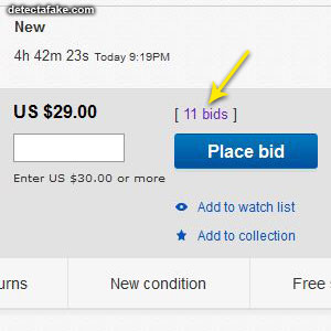 Bidders on eBay - Step 1, picture 2