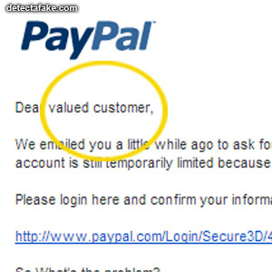 Fake Emails or Phishing Scams - Step 7, picture 1