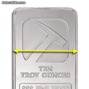 Silver Bullion Bar - Step 2, picture 1